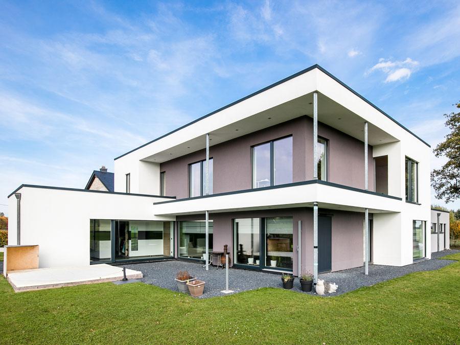 Kaufmann Häuser: Beispiel eines Hauses aus Dübelholz