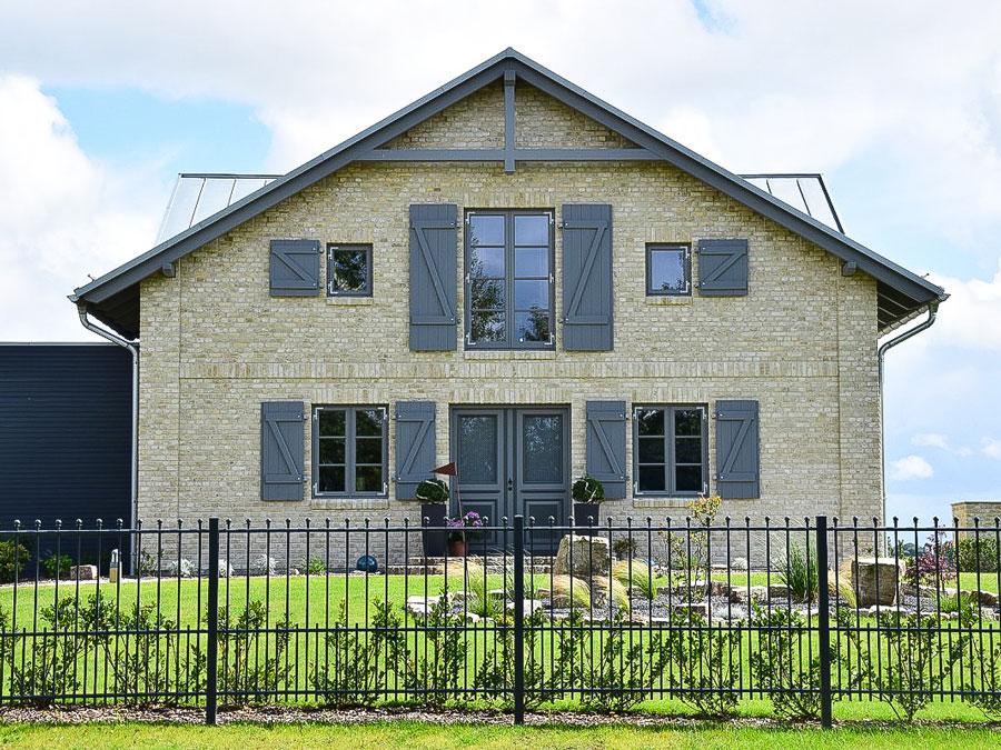 Kaufmannbau: Haus mit Klinkerfassade