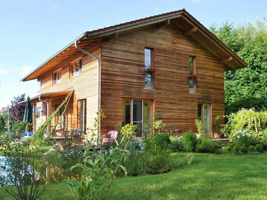 Erfahren Sie mehr zum K-Plus Holzhaus von Kaufmann