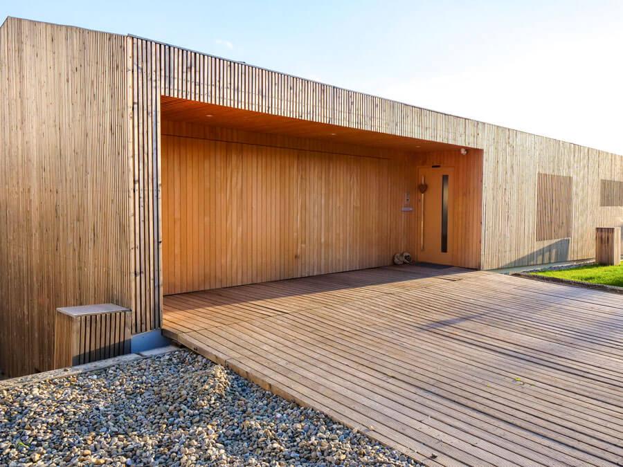Holzhaus bauen mit Kaufmannbau