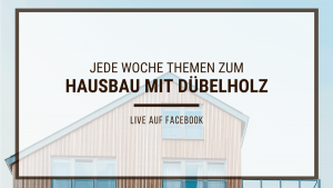 Digitale Infoabend von Kaufmannbau auf Facebook